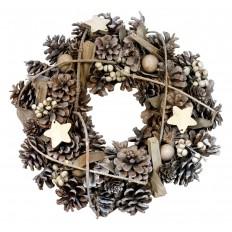 Vánoční věnec přírodní