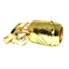 Stuha vázací 20m metalic- Zlatá