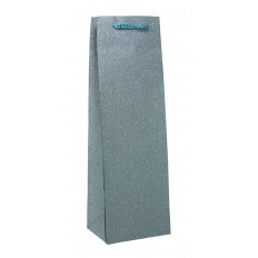 Taška glitter láhev sv.modrá