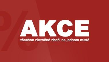 AKCE - všechno zlevněné zboží na jednom místě