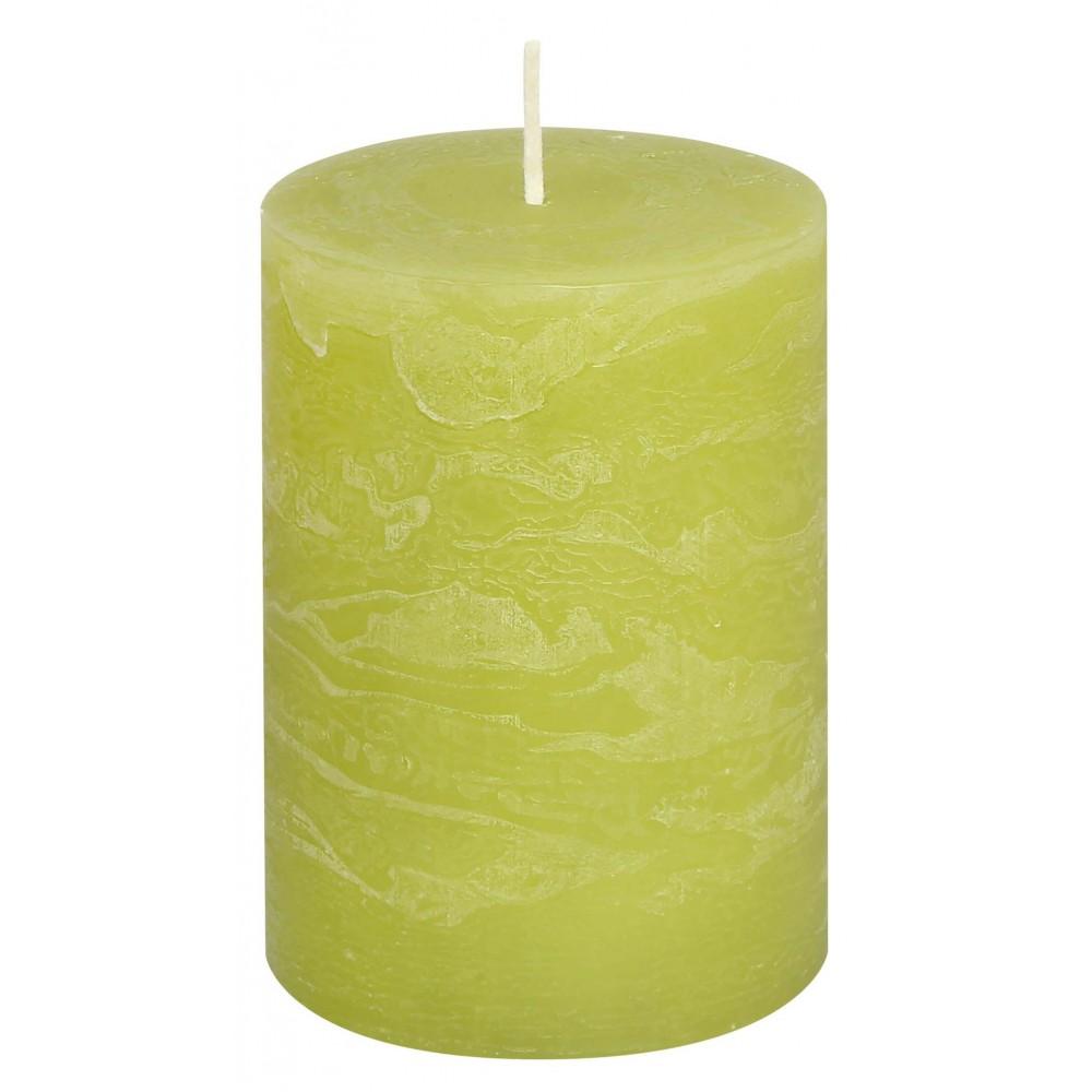 Svíčka RUSTIC limetková 8 cm