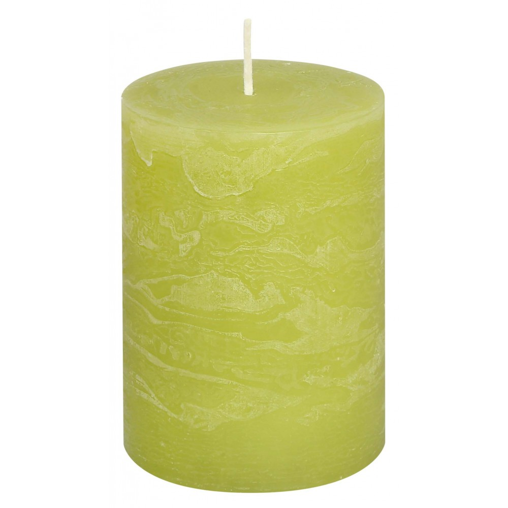 Svíčka RUSTIC limetková 13 cm