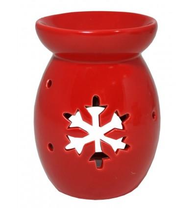 Aromalampa vysoká vločka červená