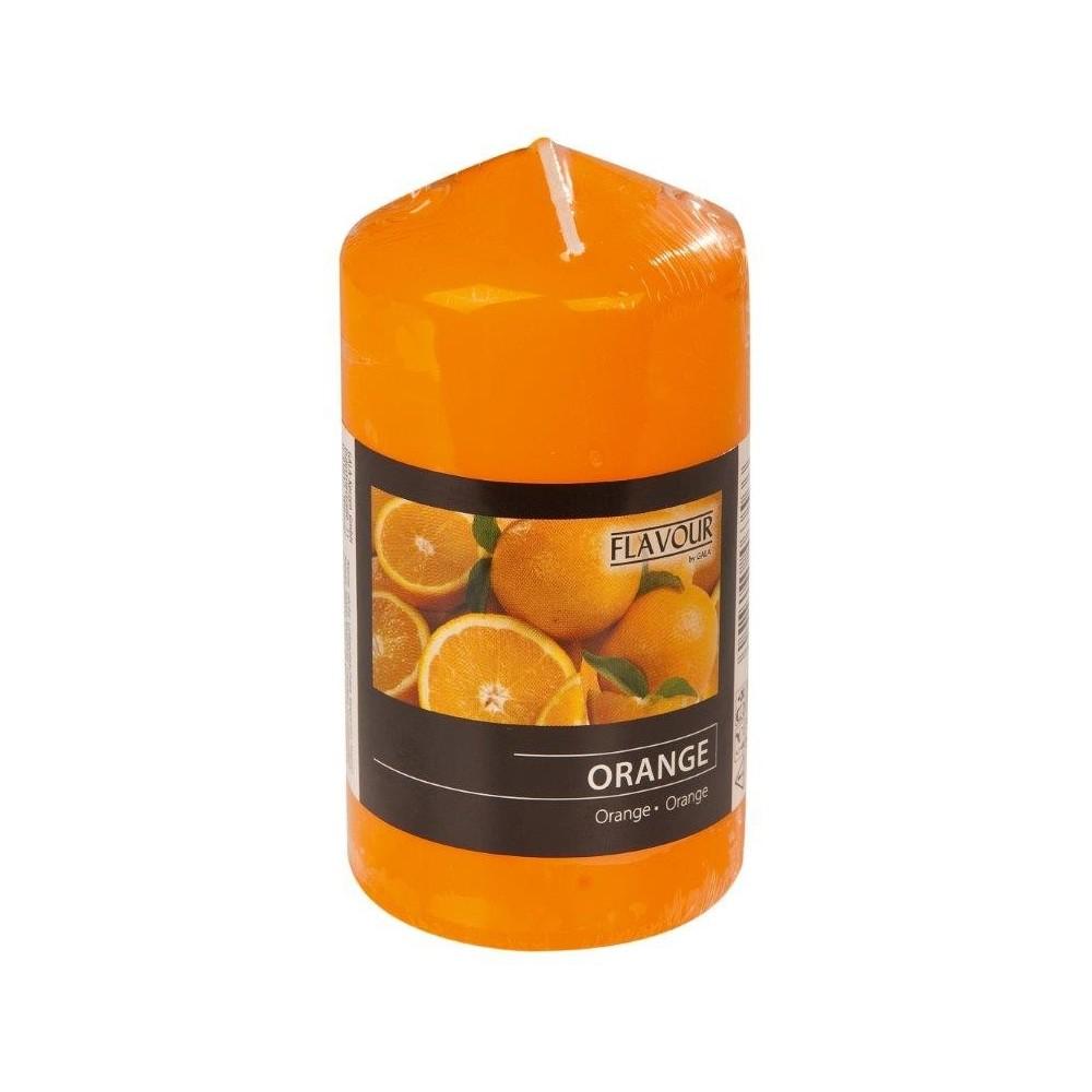 Svíčka vonná válec - Pomeranč