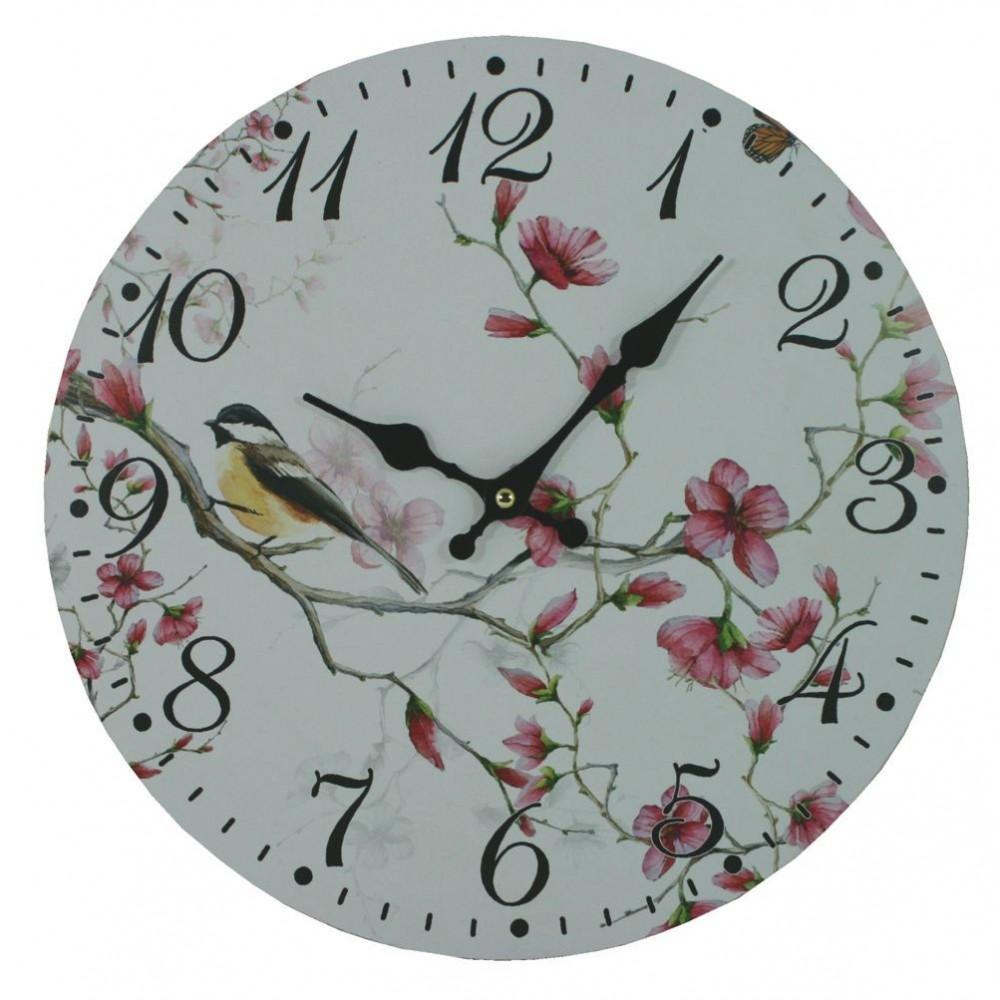 Nástěnné hodiny Ptáček