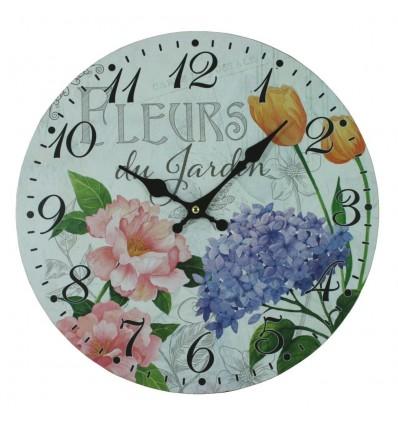 Nástěnné hodiny Lavender de Provence