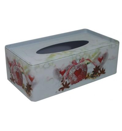 Krabička na tissue Jablko srdce