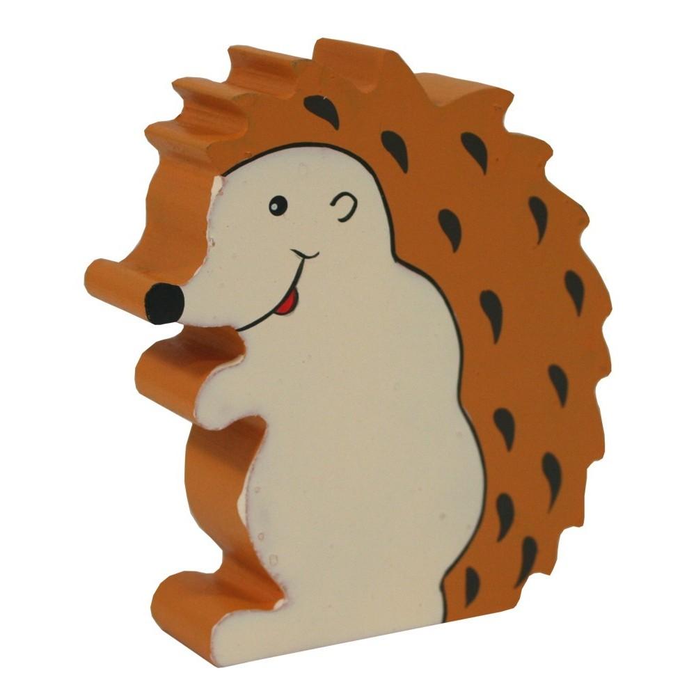 Dřevěná dekorace - ježek malý