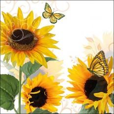 Ubrousky Slunečnice a motýli