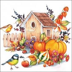 Ubrousky Podzimní budka