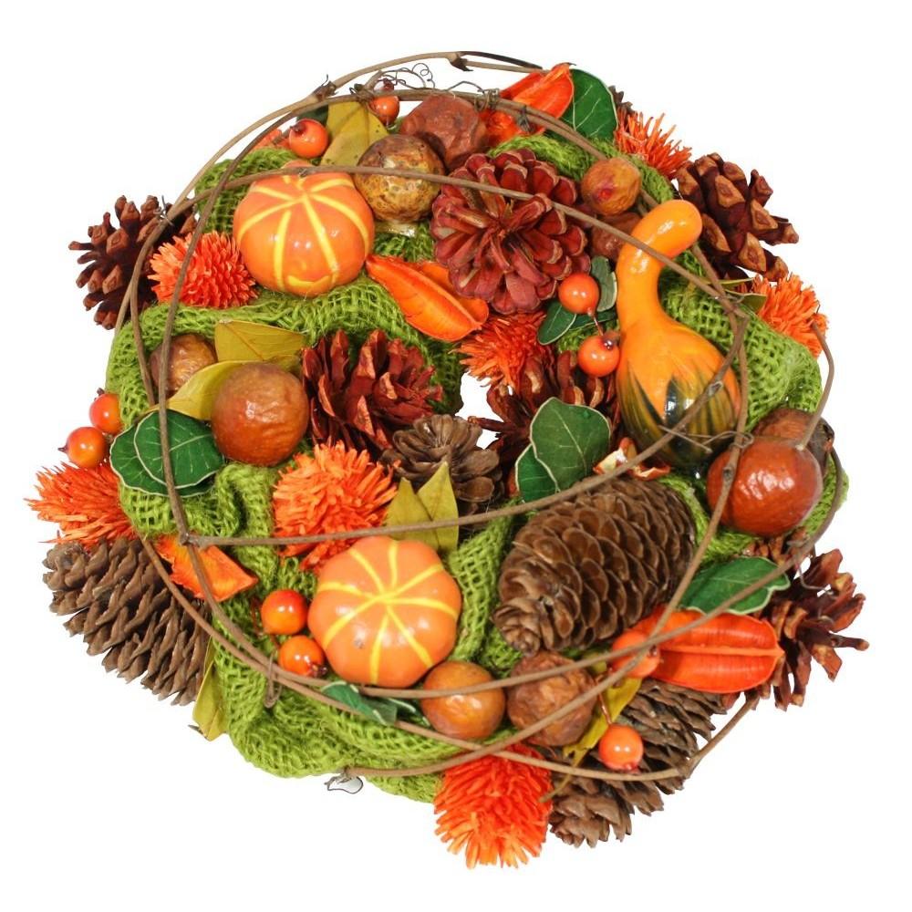 Podzimní věnec  dekorační