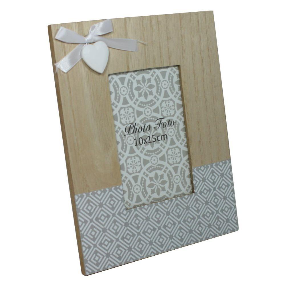 Dřevěný foto rámeček mozaika