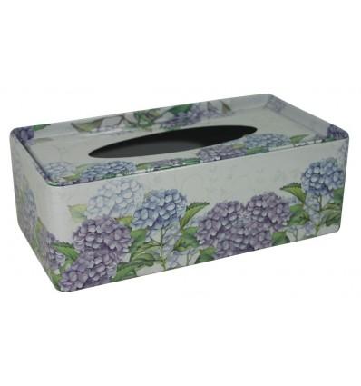 Plechová krabička na tissue Tulipány