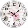 Nástěnné hodiny Lavender