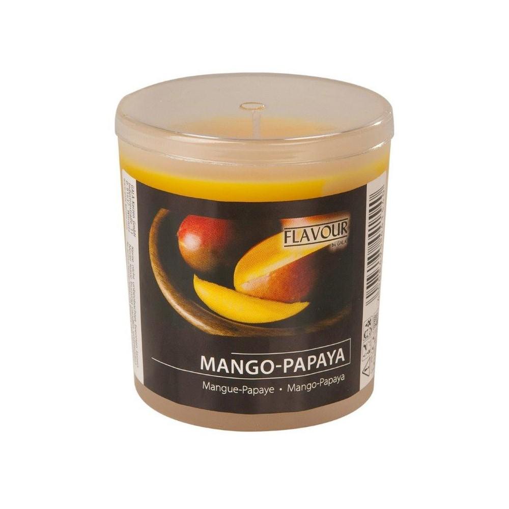 Svíčka vonná ve skle Mango-papaja