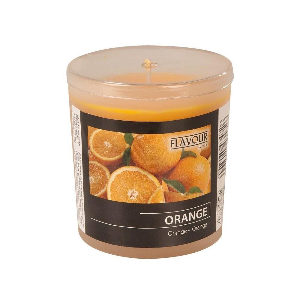 Svíčka vonná ve skle Pomeranč