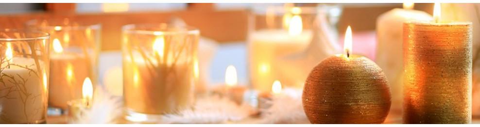 Svíčky, svícny,lucerny a doplňky