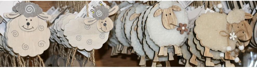 Dekorační ovečky