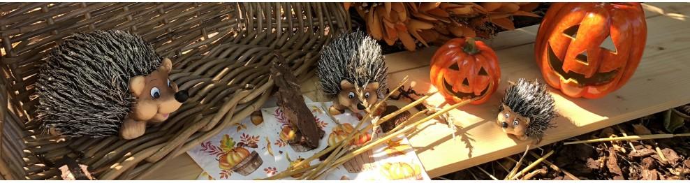 Dekorační ježci